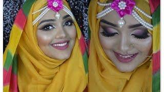 Download Asian Haldi/ Holud /Mehendi/ bridal/ Wedding Hijab Tutorial    with Raisa Naushin Video