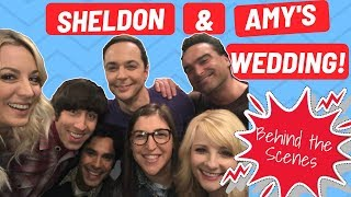 Download The Big Bang Theory: Sheldon & Amy's Wedding Behind the Scenes! Video