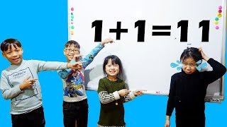 Download Hunter Kids Go To School Learn Color Math And Calculation | Classroom Funny Nursery Rhymes Video