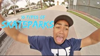 Download 10 Types of SKATEPARKS Video