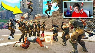 Download DEFAULT SKIN ARMY vs TILTED TOWERS in Fortnite Battle Royale! Video