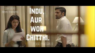 Download Indu Aur Woh Chitthi   Short Film   Ft. Subha Rajput, Vaibhav Tatwawaadi   By Ruturaj Dhalgade Video
