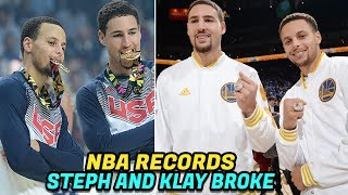 Download NBA RECORDS Steph Curry and Klay Thompson Have Broken! The Splash Brothers! Video