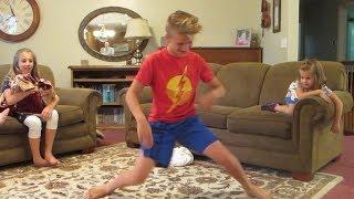 Download Grandkids Do Fortnite Dance Challenge Video