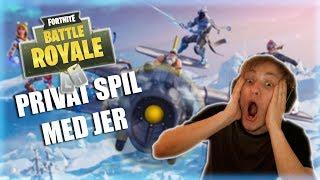 Download SPILLER PÅ MIN CUSTOM FORTNITE SERVER MED JER! Video