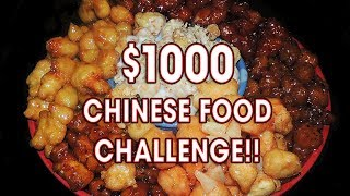 Download $1000 CHINESE FOOD CHALLENGE!! Video