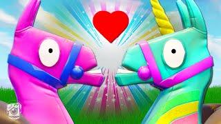 Download UNICORN AND LLAMA FALL IN LOVE?! *NEW YEE-HAW SKIN* - Fortnite Short Films Video