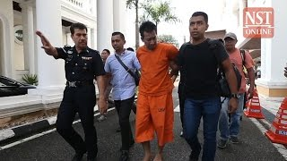 Download Bodyguard who shot 'Datuk' boss, several others in Penang charged with multiple offences Video