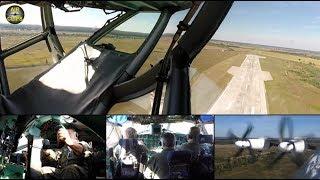 Download Antonov 22 ULTIMATE COCKPIT MOVIE 1 of 3 [AirClips full flight series] Video