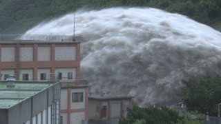 Download Amazing Mega Flood At Dam In Taiwan Video