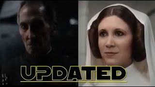 Download Rogue One: A Star Wars Story - CGI Tarkin and Leia Organa Video
