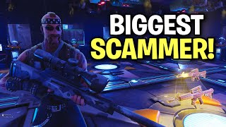 Download biggest scammer ever loses whole inventory! 😎 (Scammer Get Scammed) Fortnite Save The World Video