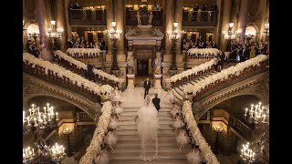 Download Watch this breathtaking bridal entrance at Opera garnier, Paris ! Video