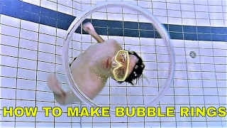 Download How To Make Underwater Bubble Rings - Bubble Ring Tutorial Video