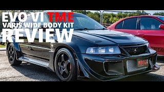 Download Mitsubishi EVO VI 6 Tommi Makinen Edition Varis Wide Body Kit Review (ONE OF A KIND) Video