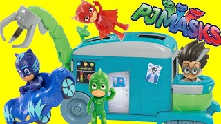 Download PJ MASKS Romeo's Transforming Lab Playset with Catboy, Owlette & Gekko TOYS Video