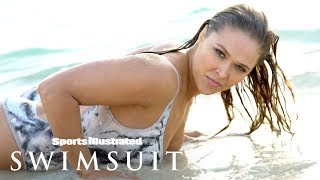 Download Ronda Rousey Gets Wet, Gives You A Show In Nothing But Body Paint | Sports Illustrated Swimsuit Video