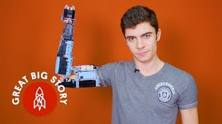 Download Building a Prosthetic Arm With Lego Video