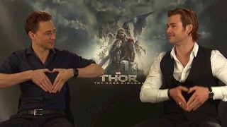 Download Chris Hemsworth & Tom Hiddleston Funny Moments Video