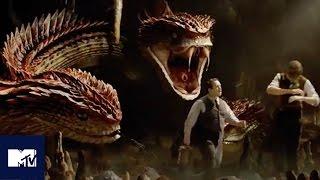 Download Fantastic Beasts EXCLUSIVE Deleted Scene Reveals New Creature, The Runespoor   MTV Video