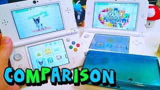 Download Comparison - NEW Nintendo 3DS vs. 3DS & 3DS XL Video