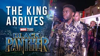 Download The King Arrives - Chadwick Boseman at Marvel Studios' Black Panther World Premiere Red Carpet Video