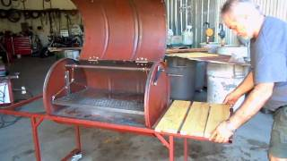 Download Como construir Parrilla chulengo asador Argentina de tambor Video