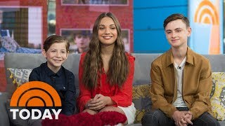 Download Meet The 3 Young Stars Of 'The Book Of Henry' | TODAY Video
