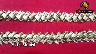 Download gota embroidery-how to make lace with gota dhanak Video