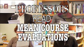 Download Swarthmore Professors Read Mean Course Evaluations Video