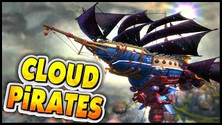 Download Cloud Pirates ➤ New Airship Combat Game! Dreadnought Meets Armored Warfare? [Cloud Pirates Gameplay] Video