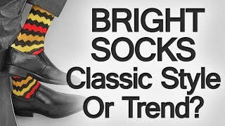 Download Bright Socks For Men – Trend Or Classic Style? Colorful Socks With A Social Cause Video