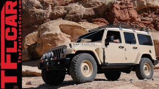 Download Jeep Africa Concept: Land Rover Defender's long lost Brother Video