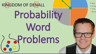 Download Probability Word Problems (Simplifying Math) Video