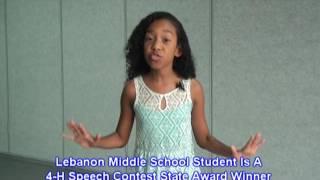 Download Marion County 4-H Speech State Award Winner Video