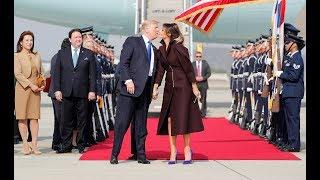 Download Melania Trump Lands a Kiss Video