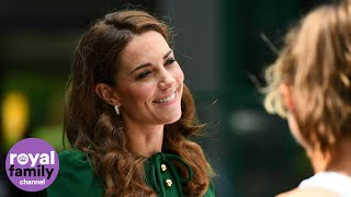 Download The Duchess of Cambridge Arrives at Wimbledon Ahead of Women's Final Video