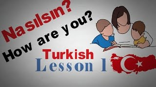 Download Learn Turkish Lesson 1 Greetings | Animated Video