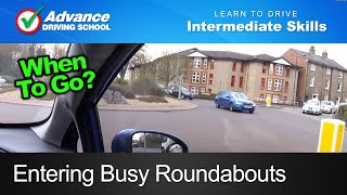 Download Entering Busy Roundabouts | Learning to drive: Intermediate skills Video