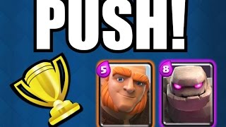 Download PUSH MIT GOLEM UND RIESE! | ICH PUSHE EUCH #06 | Clash Royale deutsch Video