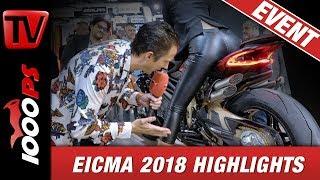 Download EICMA 2018 ! Motorrad Neuheiten 2019 auf der Motorradmesse Mailand. Messerundgang NastyNils Video