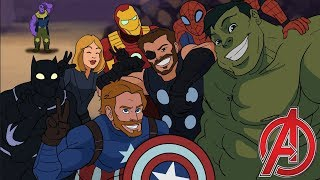 Download Avengers Assemble - Avengers Infinity War Parody Animation - MOVIE SHENANIGANS Video