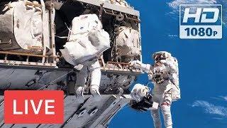 Download WATCH LIVE: Spacewalk outside the International Space Station # EVA @05:30am EST Video