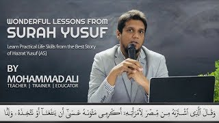 Download Wonderful Lessons from Surah Yusuf | By Mohammad Ali @ SCIL Video