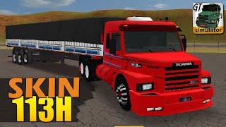 Download Grand Truck Simulator - SKIN Scania 113H e QUEBRA DE ASA SUICIDA Video