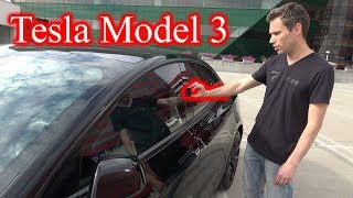 Download TESLA MODEL 3. My First Drive and the Exterior of the Car! Video