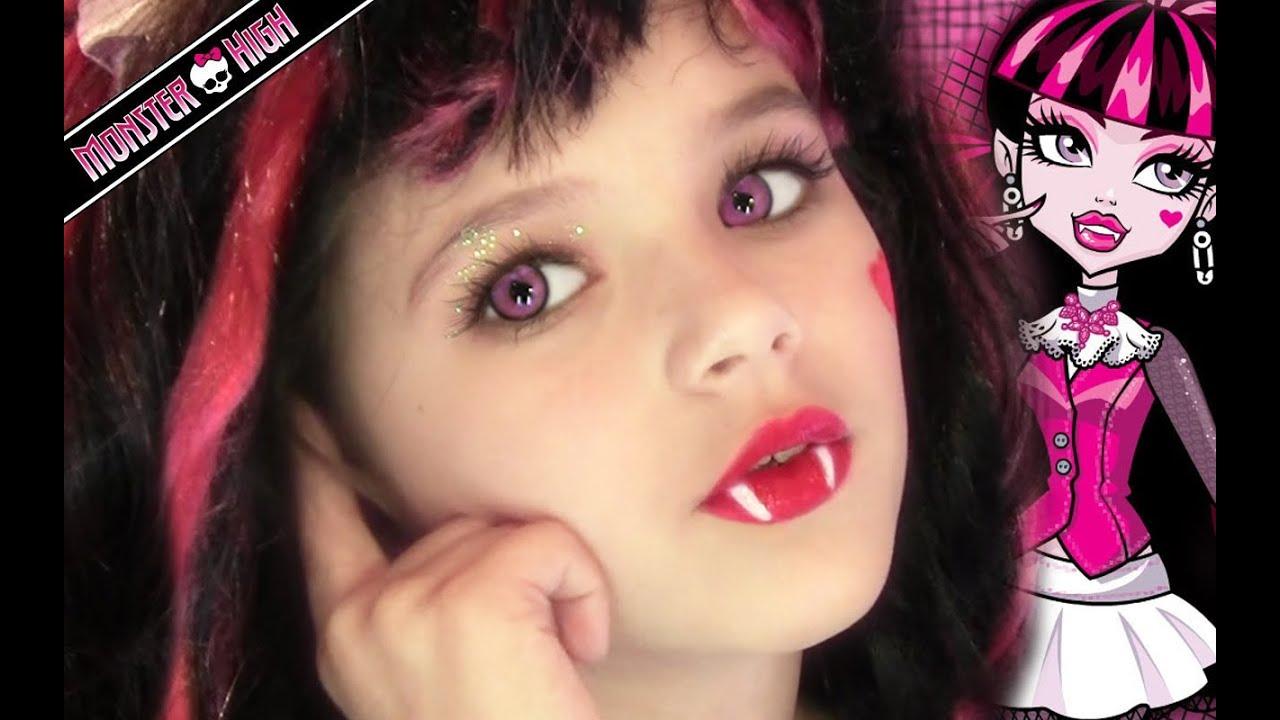 Stream draculaura monster high doll costume makeup tutorial for draculaura monster high doll costume makeup tutorial for halloween or cosplay kittiesmama baditri Images