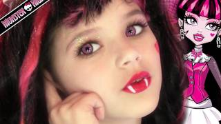 Download Draculaura Monster High Doll Costume Makeup Tutorial for Halloween or Cosplay | KittiesMama Video