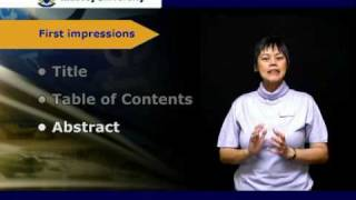 Download Writing the Thesis Video