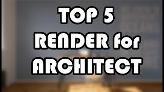 Download Render software for Architect Video